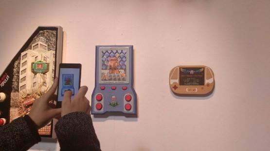 La realidad aumentada también se coló en el museo.