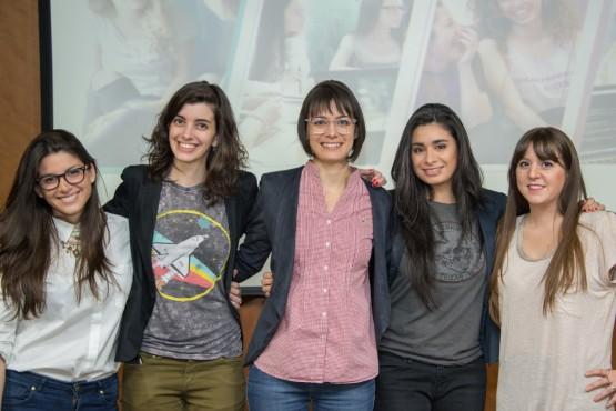 La organización está compuesta por: Sofía Contreras, Carolina Hadad, Melina Masnatta, Lucila Rodríguez y Mariana Varela.