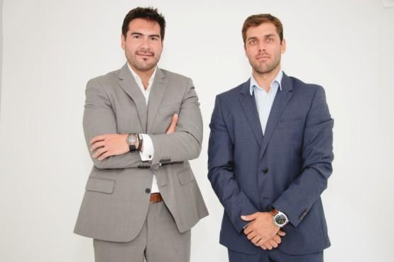Fernando Aldana y Rodrigo Gonzalez volvieron a Argentina para participar en reuniones con partnersestratégicos. También realizaron un evento de presentación con prensa, en el que participó Portinos.