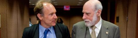 Tim Berners y Vinton Cerf