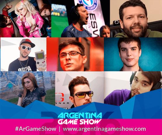 Algunas de las figuras que estarán presentes en el mega-evento de gaming.