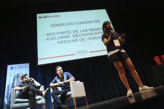 Vanina Romero en el OMD