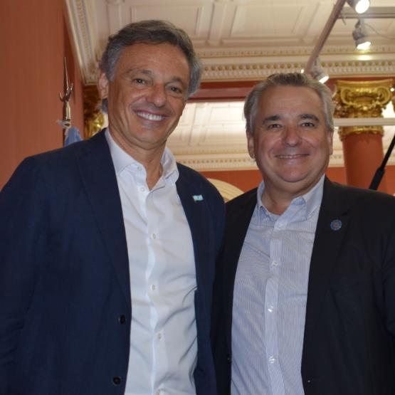 Francisco Cabrera y Carlos Pallotti