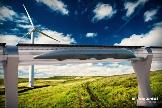 Hyperloop Future of Transportation (PRNewsFoto/Hyperloop Transportation Tech...)