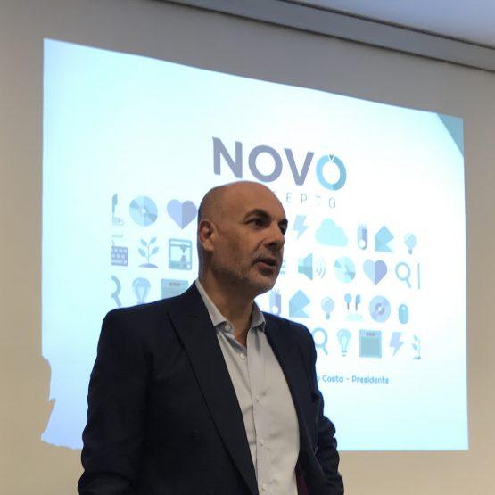Sergio Costa, CEO de NovoConcepto