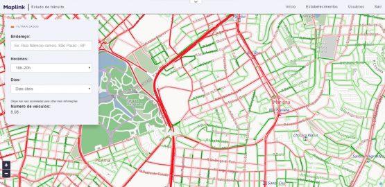 Maplink - Plataforma_Tránsito