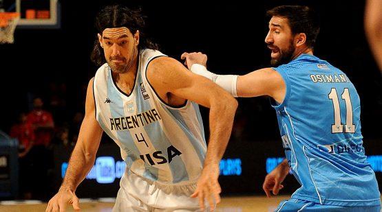 Télam México 06/09/2015 Argentina juega con Uruguay la segunda fecha de la segunda fase del Preolímpico de básquetbol México 2015. Foto: José Romero/enviado especial/ema