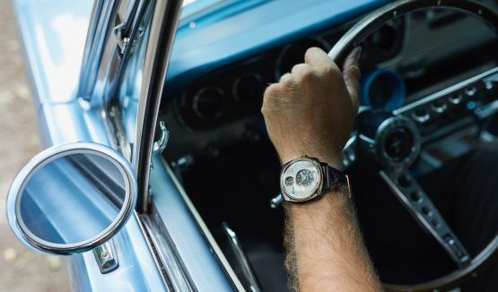 Salvaged Ford Mustangs are transformed into unique timepieces.