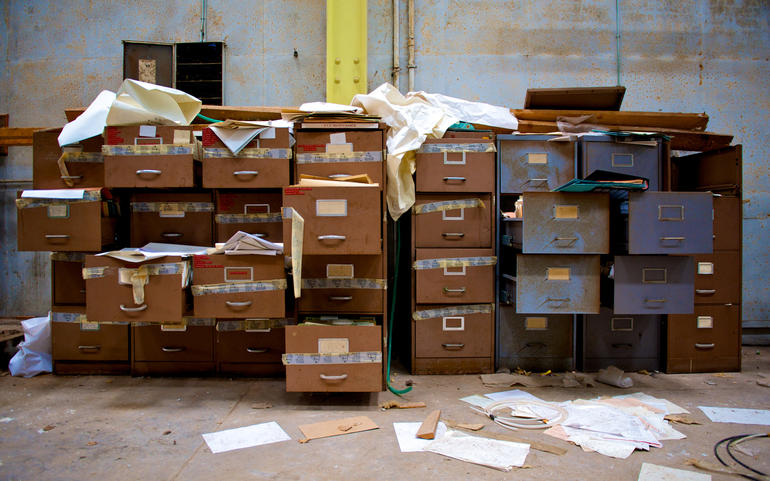 Filing Cabinets Mess