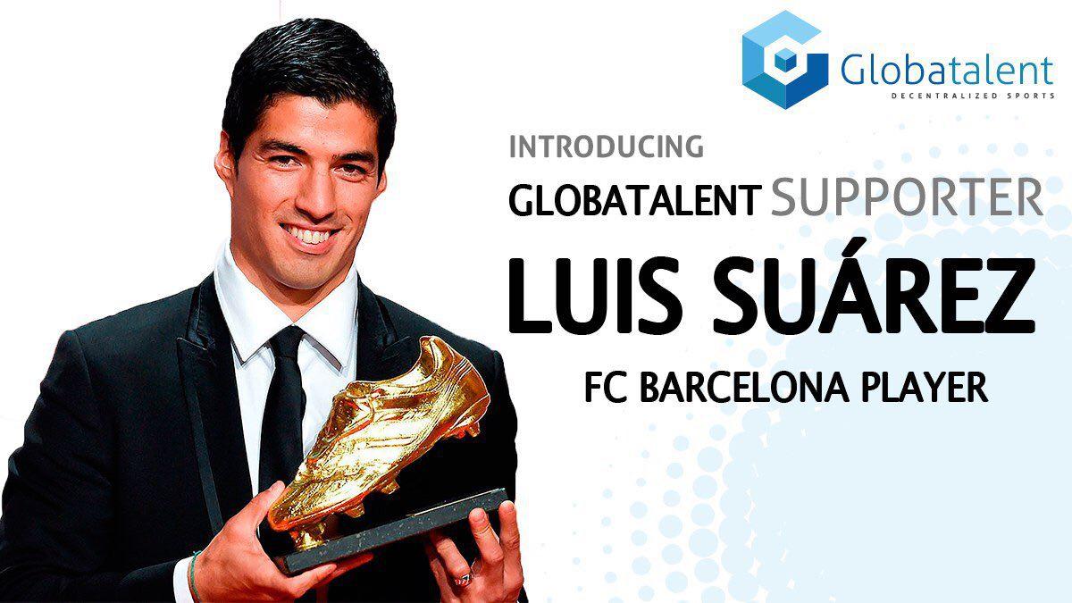 Luis Suárez en Globatalent