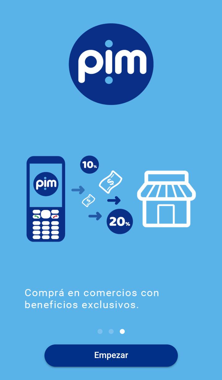 Ingreso App pim 3