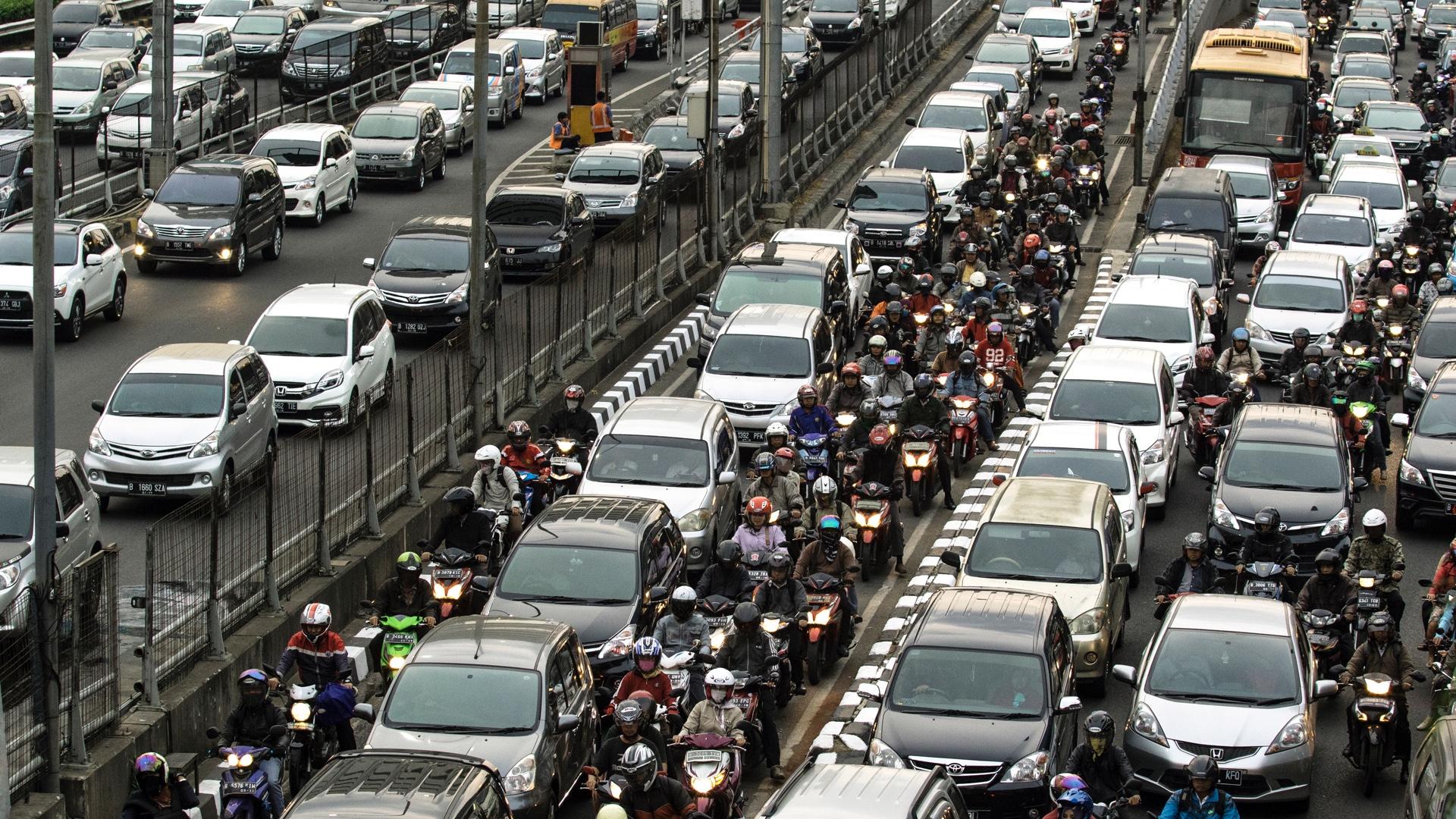 Jakarta, Indonesia, Waze