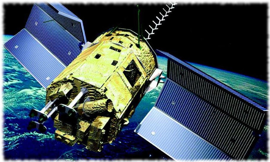 El SAC-C, lanzado en 2000, primer gran satélite agropecuario de la CONAE. Excedió casi 3 veces su vida útil de diseño.